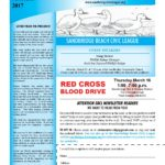 Sandbridge Beach Civic League Newsletter March 2017