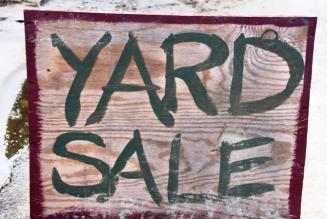Sandbridge yard sale 2017