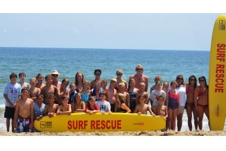 Lifeguard Camp at Sandbridge Beach