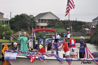 Sandbridge Boat Parade 2018